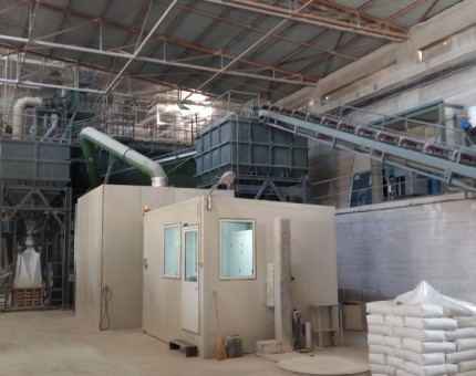 New CCM milling installation of Grecian Magnesite
