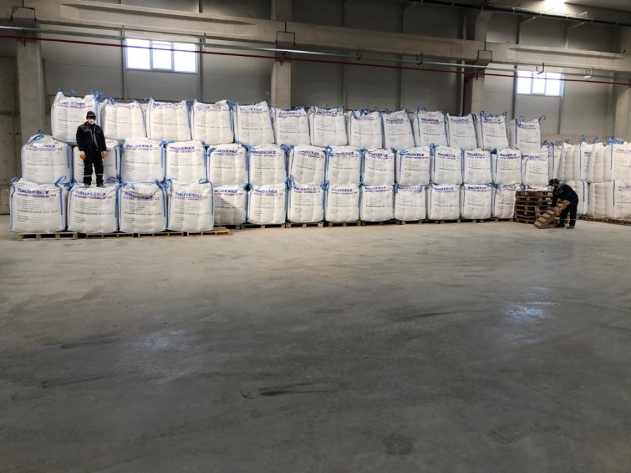 Akdeniz Mineral new warehouse for magnesium oxide