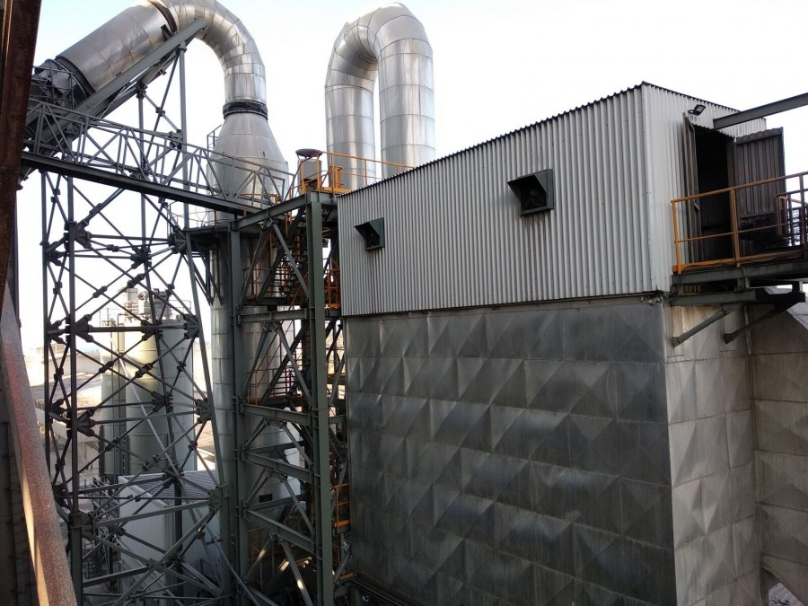 Pilot flue gas desulfurization unit in Grecian Magnesite Greece